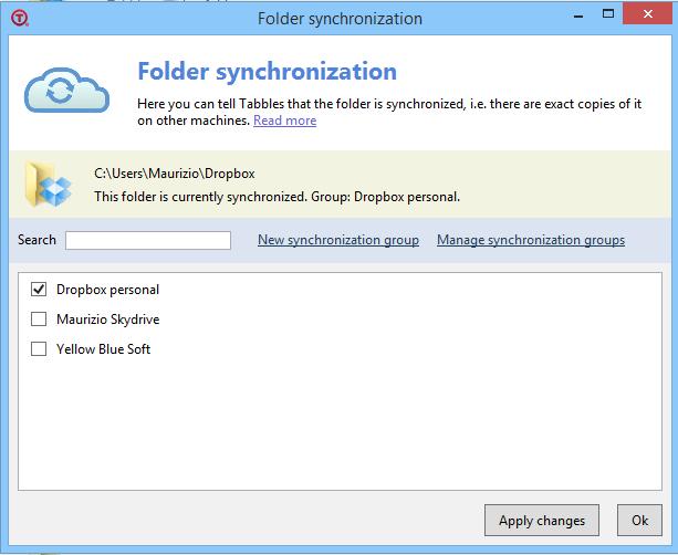 folder sync screen 2