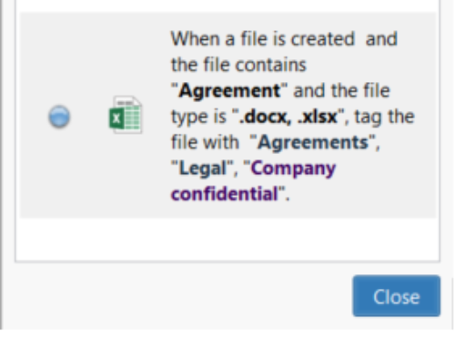 Auto-tag files based on content – new in Tabbles 5