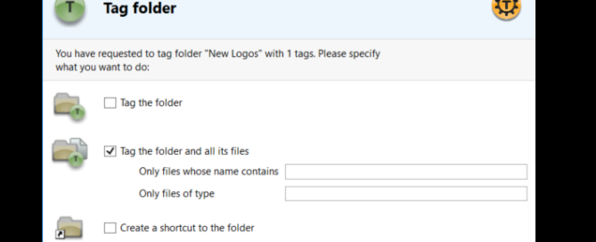 Recursive auto-tagging files and folders 3
