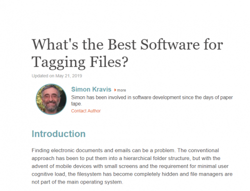 Comprehensive review of tagging software